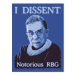 Notorious RBG Post Card