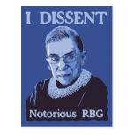 Notorious RBG Postcard