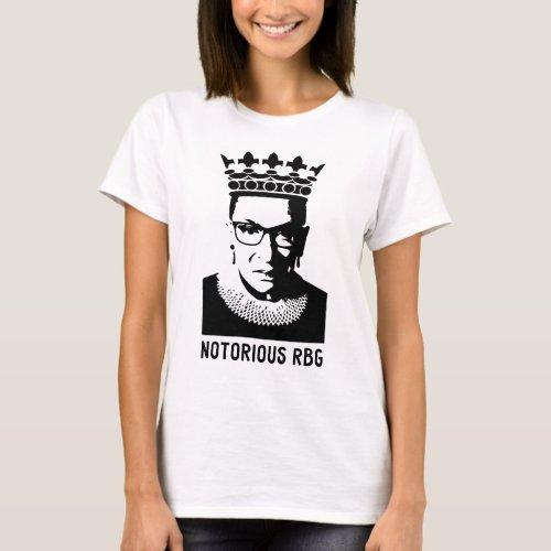 Notorious RBG _ Ruth Bader Ginsberg T_Shirt