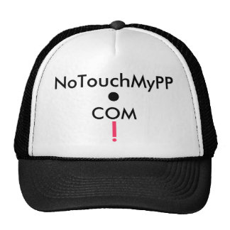 NoTouchMyPP. COM Products Mesh Hats