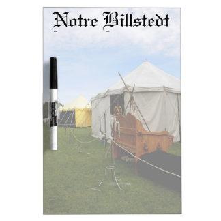 Notre Billstedt el tablero seco del borrado Pizarra