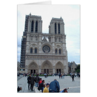 Notre Dam Cathedral Card