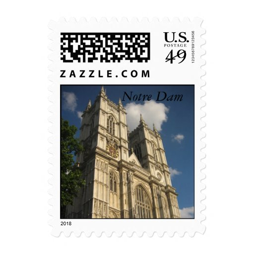 Notre Dam - Customized Stamps