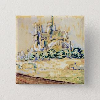 Notre Dame, 1885 Button