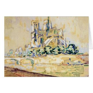 Notre Dame, 1885 Card