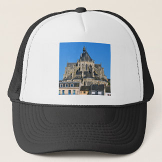Notre-Dame basilica at Mayenne in France Trucker Hat