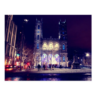 Notre-Dame basilica of Montreal Postcard
