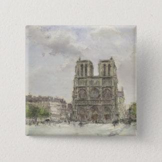 Notre Dame Button