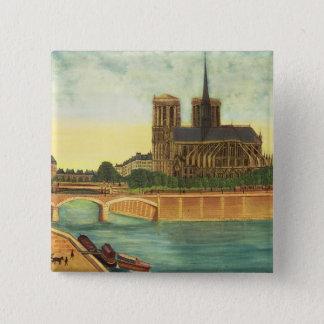 Notre-Dame  c.1933 Button