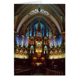 Notre Dame Card