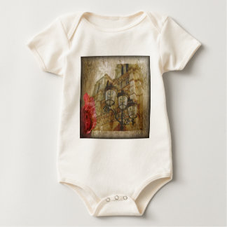 Notre Dame Cathedral Baby Bodysuit