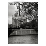 Notre Dame Cathedral Card Card
