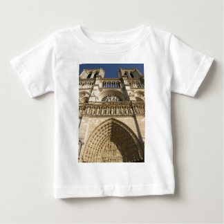 Notre Dame Cathedral in Paris Baby T-Shirt