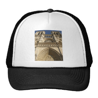 Notre Dame Cathedral in Paris Mesh Hats