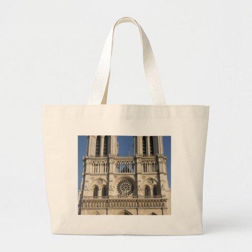 Notre Dame Cathedral in Paris Jumbo Tote Bag