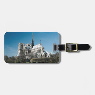 Notre Dame Cathedral Luggage Tag