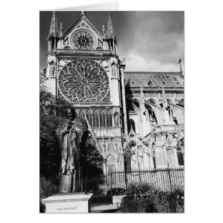 Notre Dame Cathedral, Paris ~ blank note card