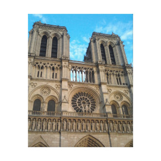 Notre-Dame Cathedral Paris Stretched Canvas Prints