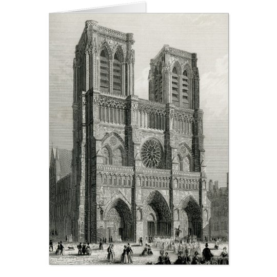Notre Dame Cathedral, Paris Card