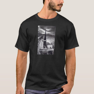 Notre Dame Cathedral Paris France 1910 Vintage T-Shirt