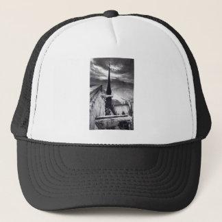 Notre Dame Cathedral Paris France 1910 Vintage Trucker Hat