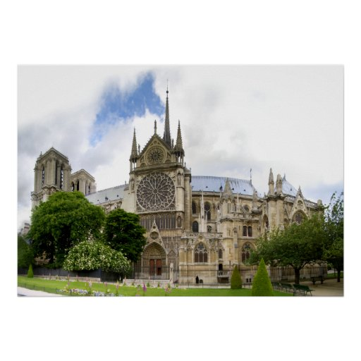 Notre Dame Cathedral Posters