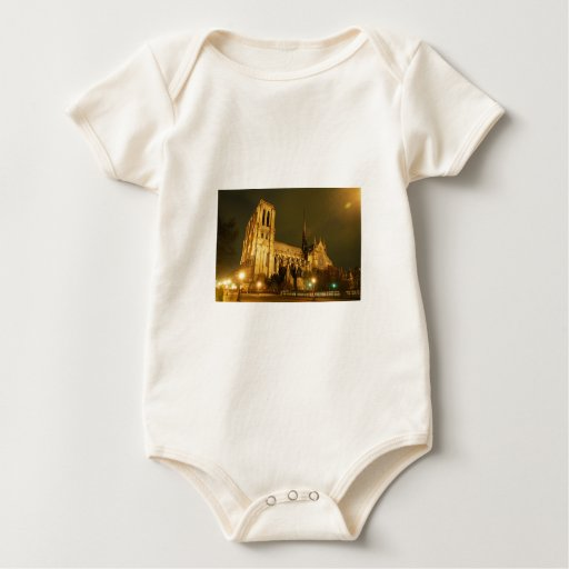 Notre Dame Cathedral Rompers