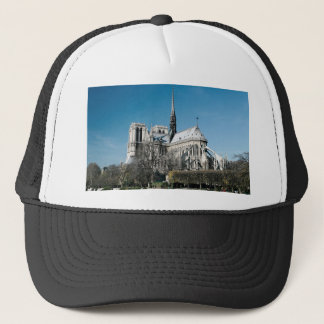 Notre Dame Cathedral Trucker Hat