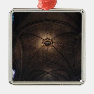 Notre Dame Ceiling Metal Ornament