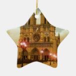 Notre Dame Ceramic Ornament
