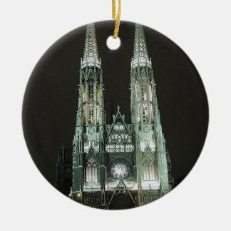 Notre Dame Church Ornament