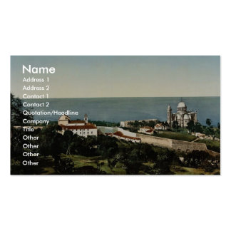 Notre Dame d' Afrique and Carmelite convent, Algie Double-Sided Standard Business Cards (Pack Of 100)
