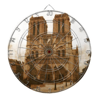 Notre Dame Dartboard With Darts