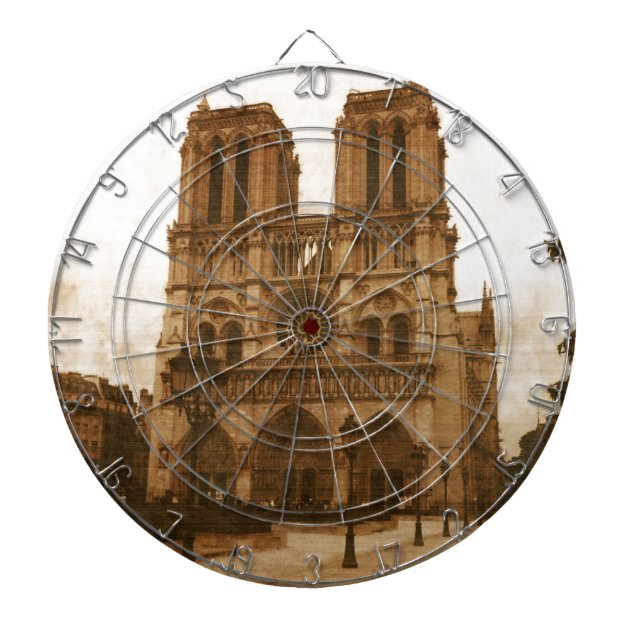 Notre Dame Dartboard | Zazzle.com