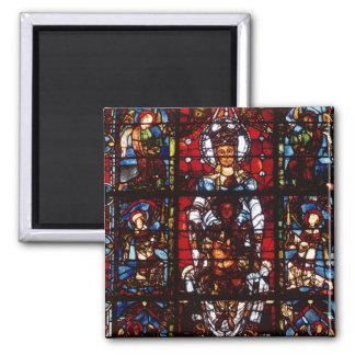 Notre-Dame de la Belle Verriere Fridge Magnets