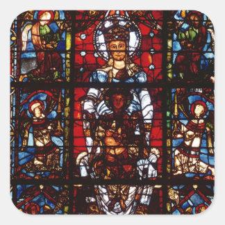 Notre-Dame de la Belle Verriere Square Sticker