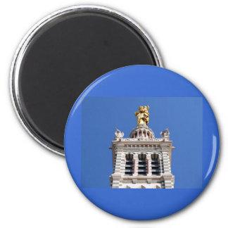 Notre Dame de la Garde 2 Inch Round Magnet