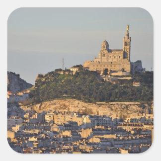 Notre Dame de la Garde Basilica Square Sticker