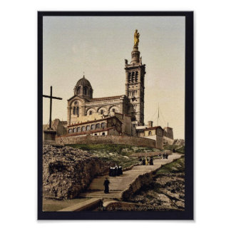 Notre Dame de la Garde I, Marseilles, France class Posters