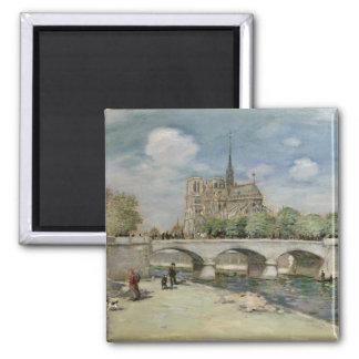 Notre Dame de Paris, c.1900 Imán