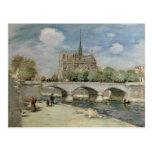 Notre Dame de Paris, c.1900 Postcard