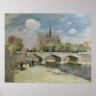 Notre Dame de Paris, c.1900 Posters