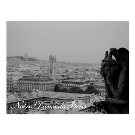 Notre Dame de Paris card