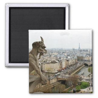 Notre Dame de Paris chimera Magnet