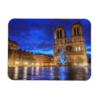 Notre-Dame de Paris de Cathédrale Iman Rectangular