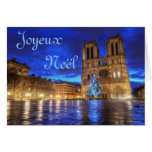 Notre-Dame de Paris de Cathédrale Tarjeta De Felicitación