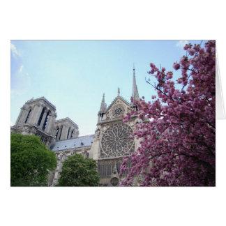 Notre Dame de Paris de Cathédrale Tarjeta Pequeña