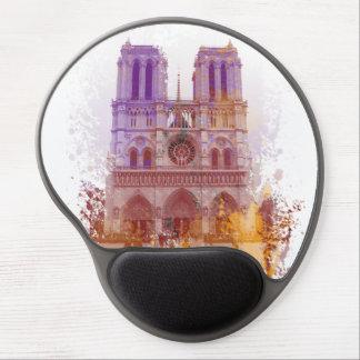 Notre Dame de Paris France Gel Mouse Pad