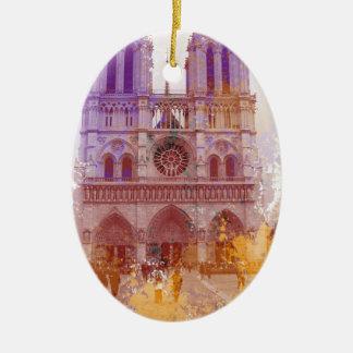Notre Dame de Paris Christmas Ornament