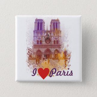 Notre Dame de Paris Pinback Button